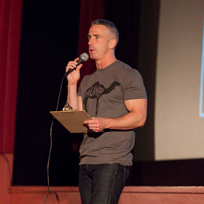 Camel T-shirt on Dan Savage